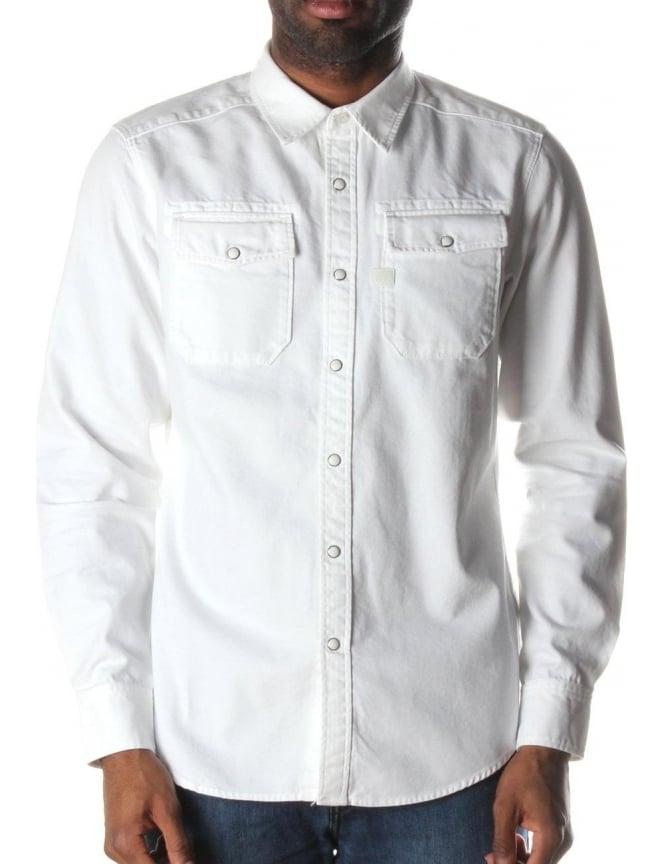 White Denim Shirt Mens - South Park T Shirts