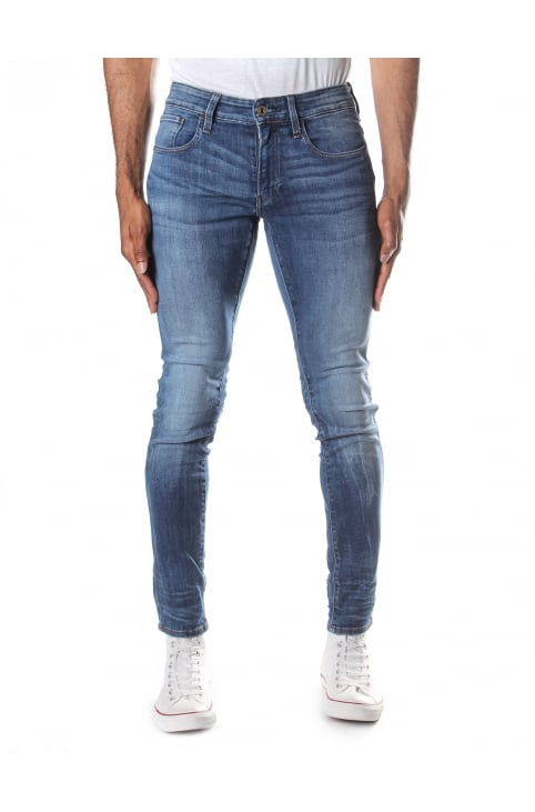 Men's 3301 Deconstructed Super Slim Elto Super Stretch Jean