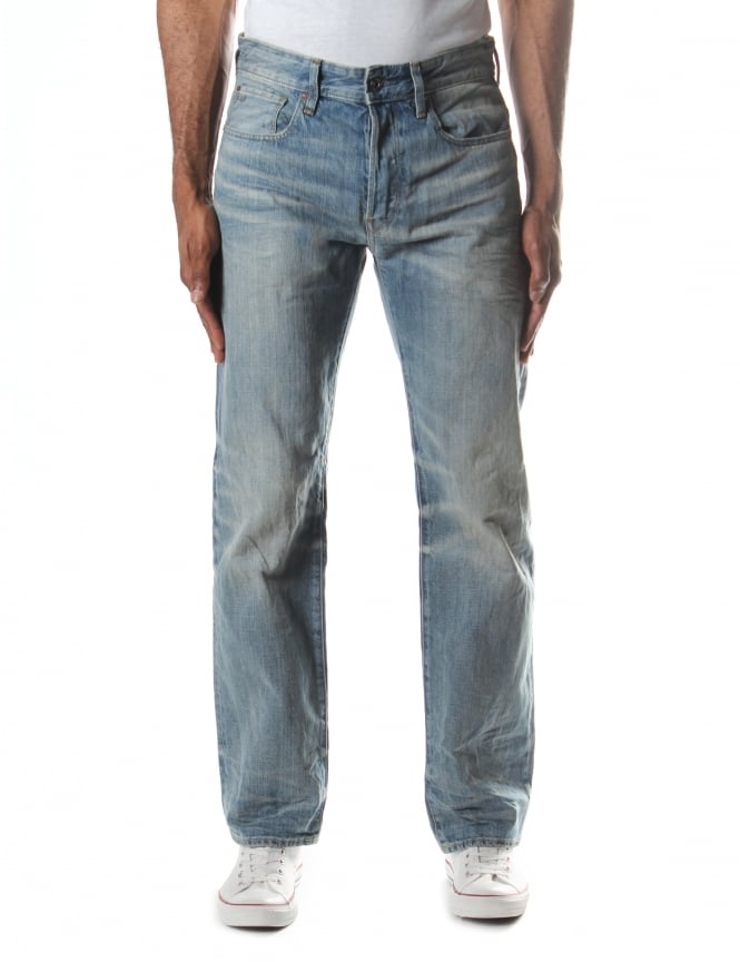 G-Star Raw Men's 3301 Loose Higa Denim Jean