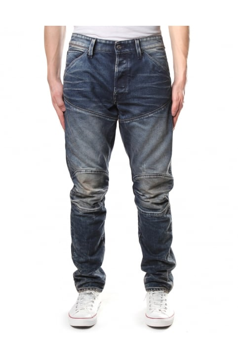 Men's 5620 Elwood 3D Tapered Rico Denim Jean Dark Aged