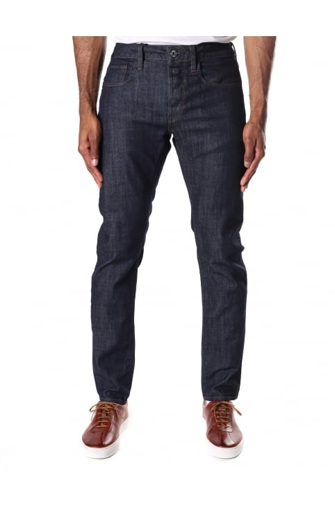 Men's Aiden 3301 Deconstructed Slim Stretch Denim Jean