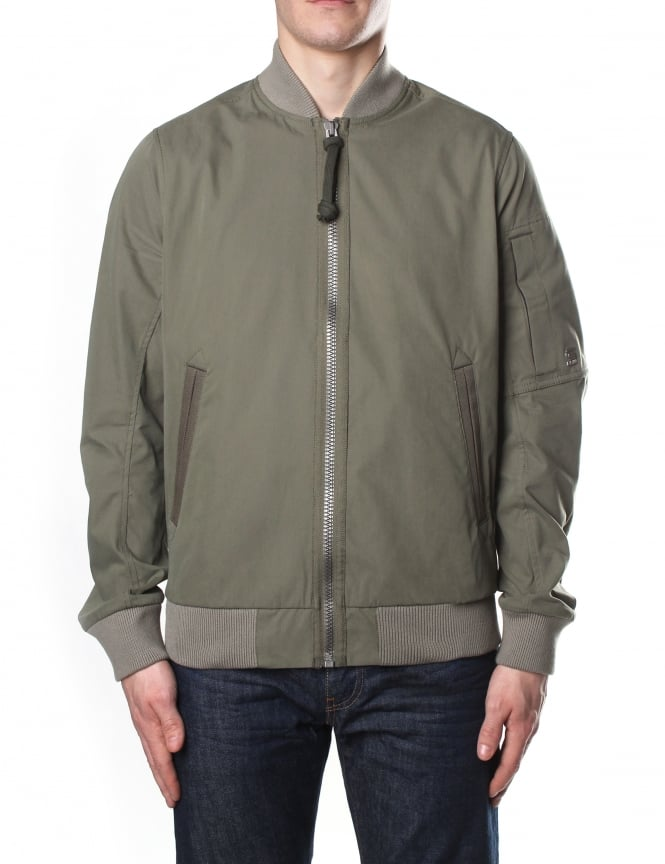 G-Star Raw Men's Batt Sports Scota Weave Bomber