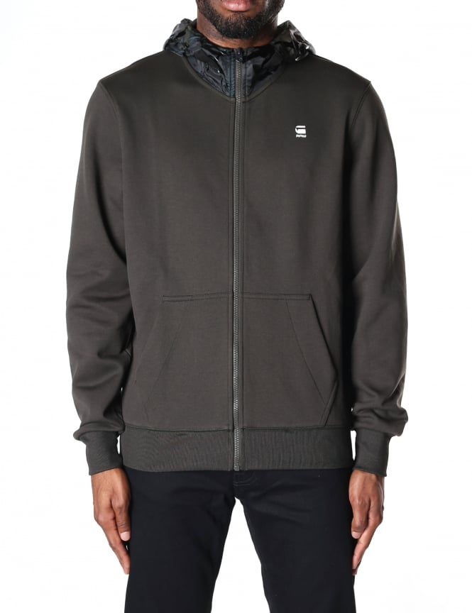 G-Star Raw Men's Core Hooded Zip Sweat Top