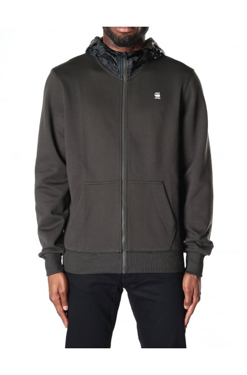 Men's Core Hooded Zip Sweat Top