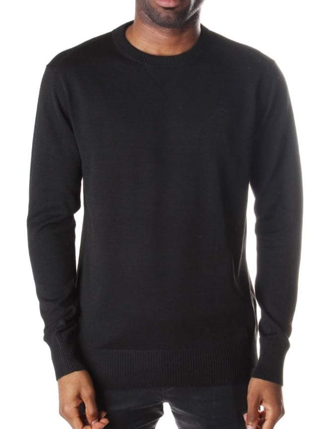 G-Star Raw Men's Core Round Neck Long Sleeve Aril Knit