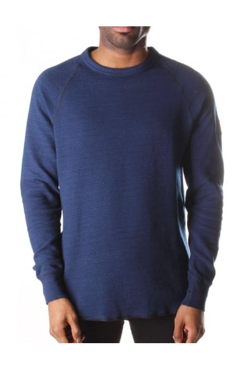 Men's Powel Raglan Rib Sweat Top