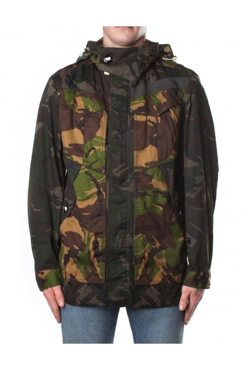 Men's Premium Twill RC Decline Field Jacket Tench/Aroch