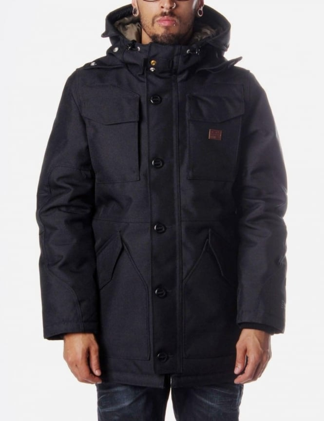 G-Star Raw MFD Hooded Men's Parka Jacket Black