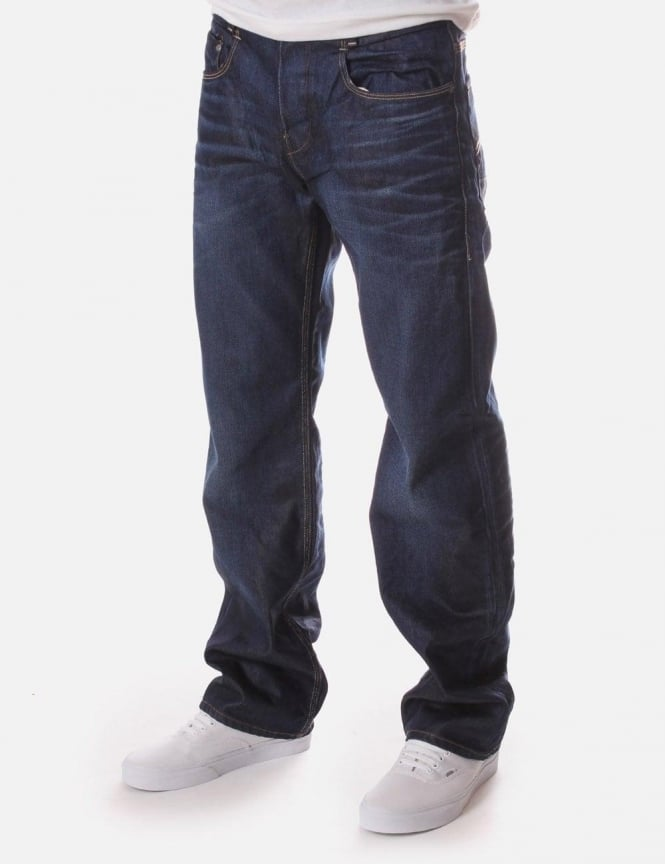 G-Star Raw New Radar Low Loose Lexicon Denim Jean Dark Aged
