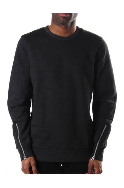 Orando Men's Ryed Sweat Top Black