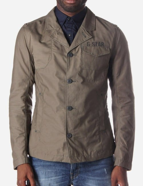 men coats jackets blazers g star raw parry men 39 s blazer jacket. Black Bedroom Furniture Sets. Home Design Ideas