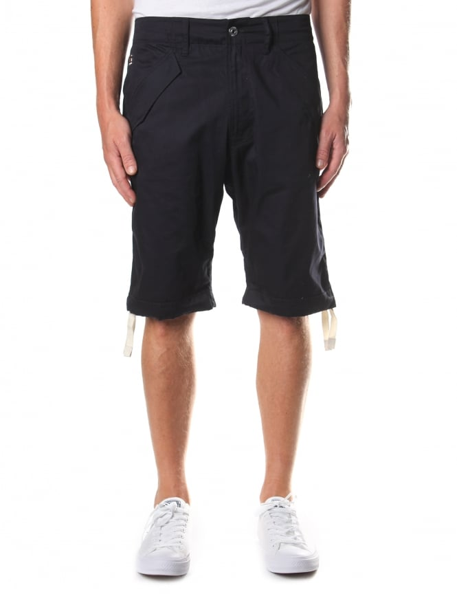 G-Star Raw Rovic Deconstructed Loose 1/2 length Shorts