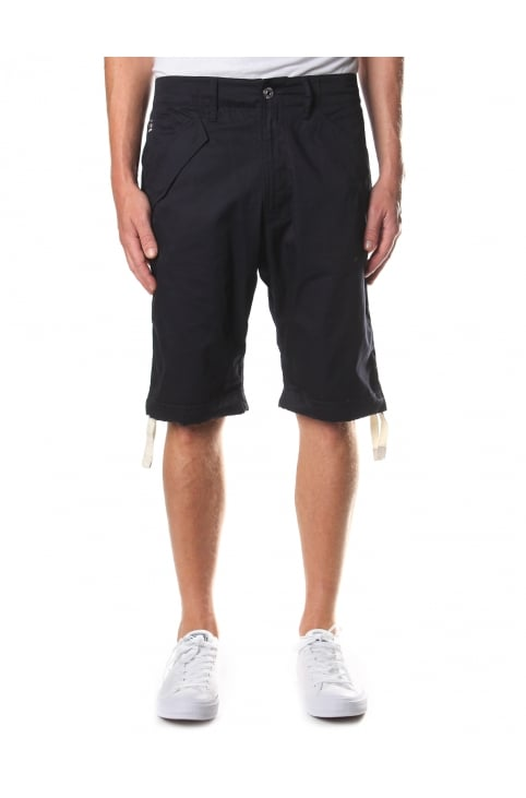 Rovic Deconstructed Loose 1/2 length Shorts