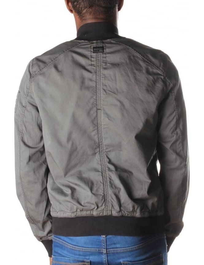 6e3e0601f G-Star Raw Sham Premium Men's Twill Bomber Jacket Grey
