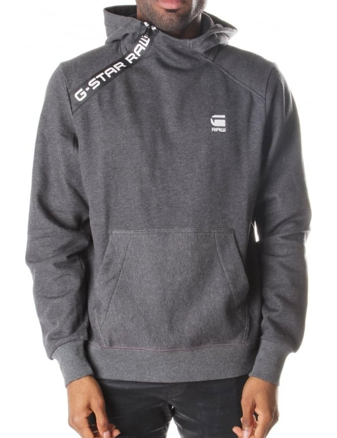 G-Star Raw Sherland Core Men's Zip Neck Hooded Sweat