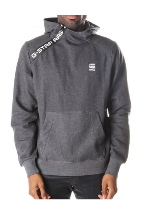 Sherland Core Men's Zip Neck Hooded Sweat