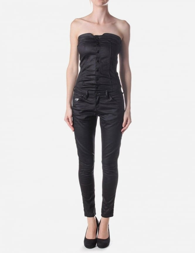suit ankle helix stretch women 39 s 5620 jumpsuit raw. Black Bedroom Furniture Sets. Home Design Ideas