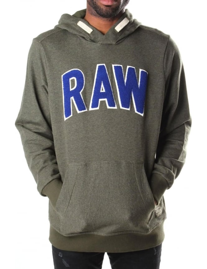 G-Star Raw Warth Men's Sherland Sweat Top Green