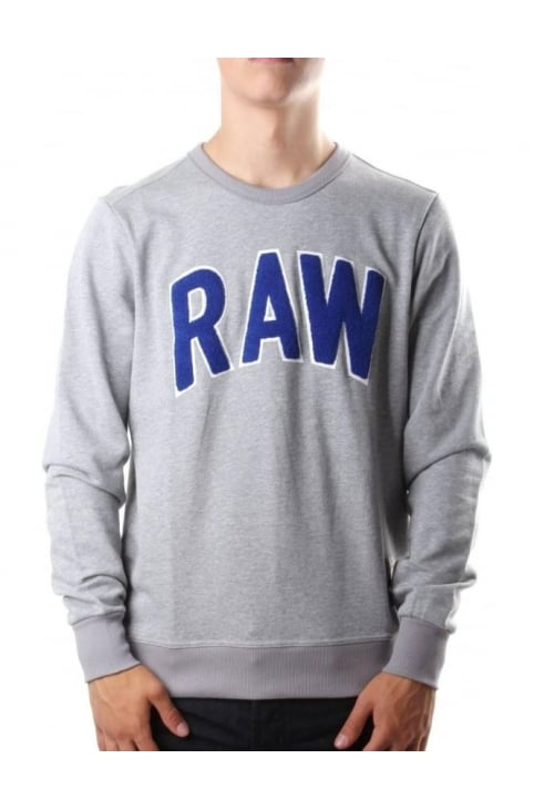 Warth Men's Sherland Sweat Top Grey
