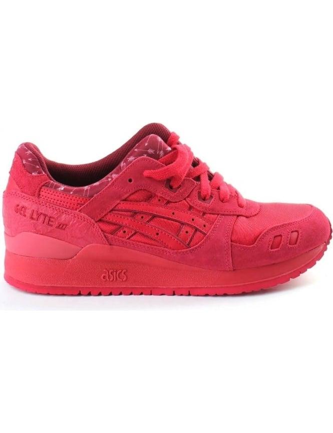 cheaper a0026 2e358 Asics Gel-Lyte III Men's Trainer Red
