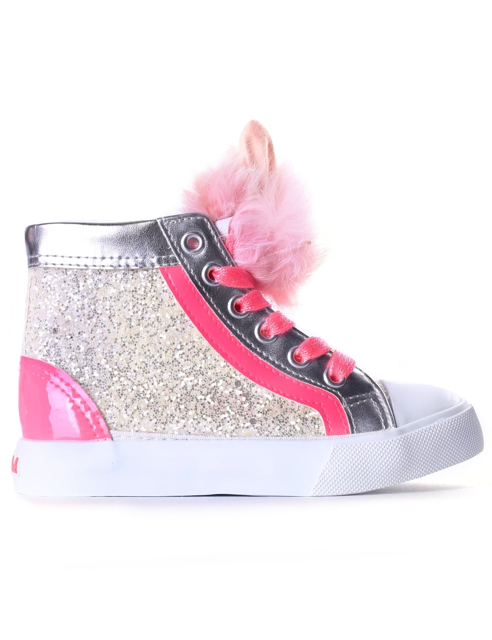 shopping outlet store sale great quality Billieblush Girls Pom Pom Trainers