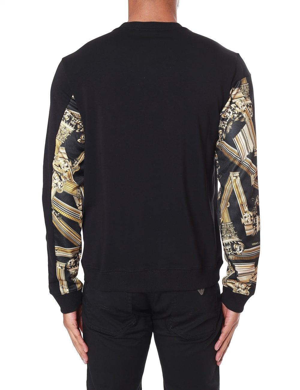 693fd63c Versace Jeans Gold Column Panel Sweatshirt