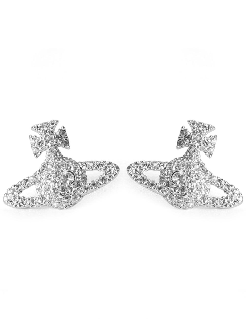 38585863c79b61 Vivienne Westwood Grace Bas Relief Women's Stud Earrings