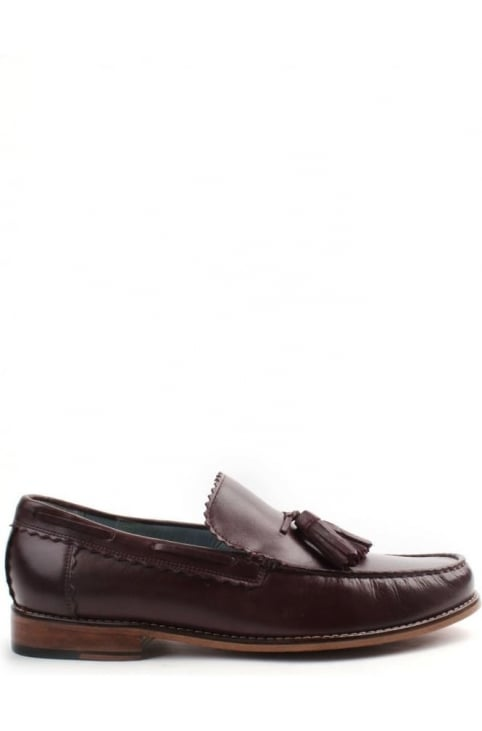 Grayson Men's Calf Loafer Burgundy