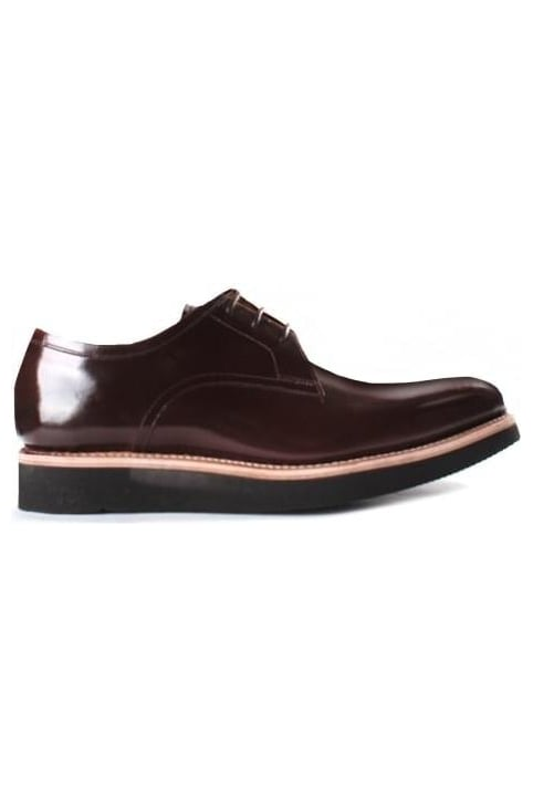 Men's Lennie Derby Shoe Honey Hi Shine