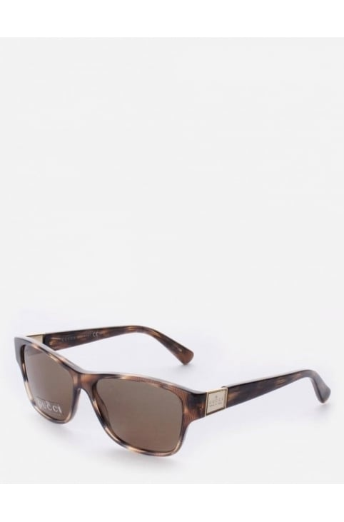 GG3208 Women's Havana Sunglasses