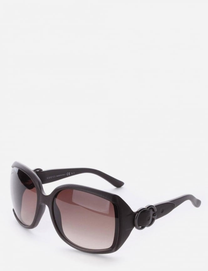 Gucci GG3511 Large Frame Women's Sunglasses Dark Brown