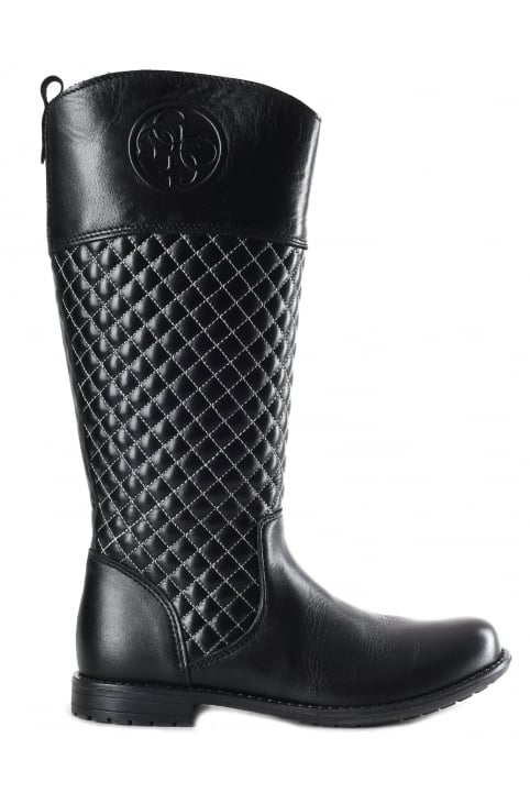 Girls Quilted Sam Boots