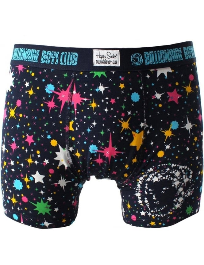 Happy Socks BBC Space Men's boxer Brief Navy