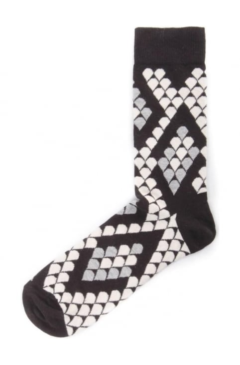 Snake Men's Patterned Socks