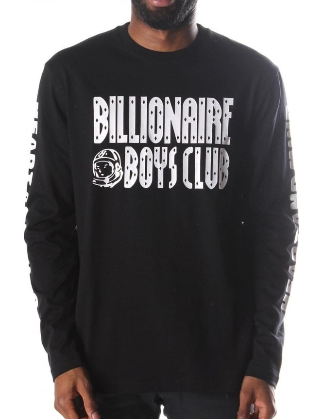 785cfd94 Billionaire Boys Club Heart and Mind Men's Long sleeve t-shirt Black
