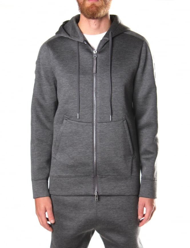 Helmut Lang Men's Essential Tape Zip Up Hoodie