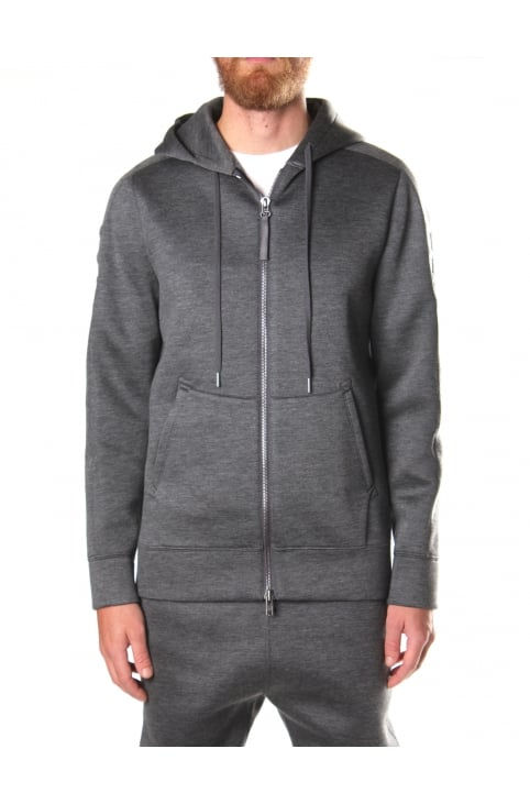 Men's Essential Tape Zip Up Hoodie