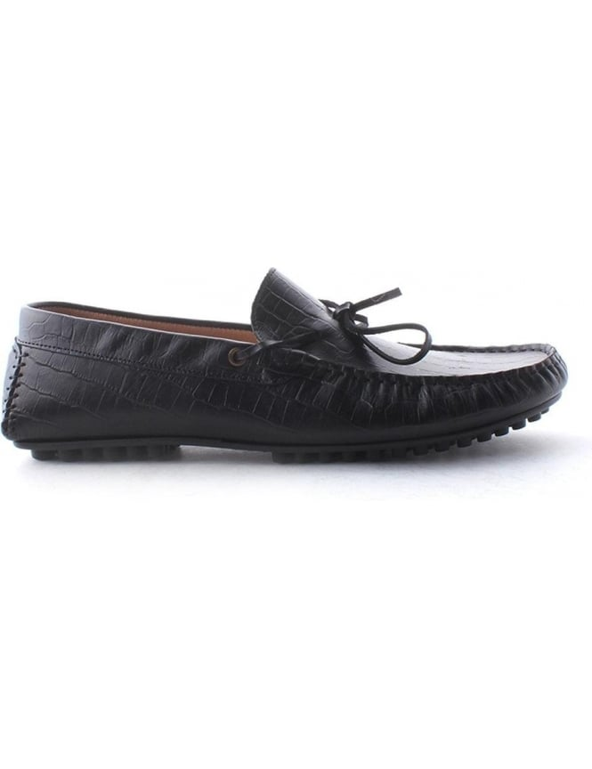 Hudson Felipe Men's Croc Tassle Loafer Shoe