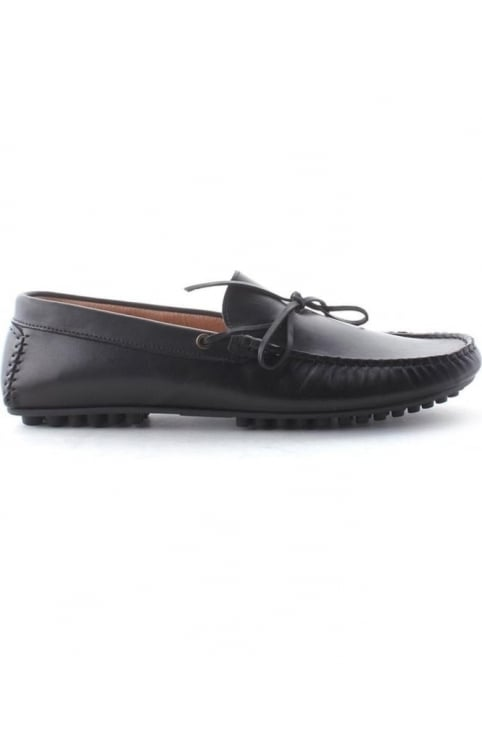 Felipe Men's Tassle Loafer Shoe Black
