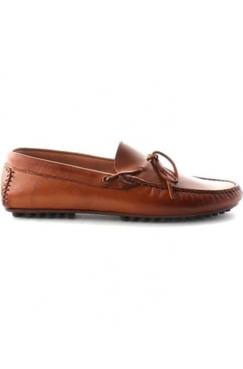 Felipe Men's Tassle Loafer Shoe Tan