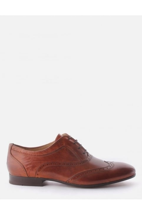 Francis Men's Leather Brogue Shoe Tan