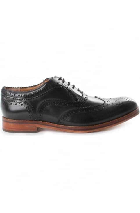 Keating Men's Brogue Shoe Black
