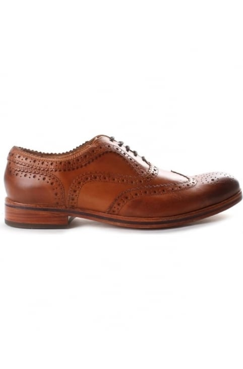 Keating Men's Brogue Shoe Tan