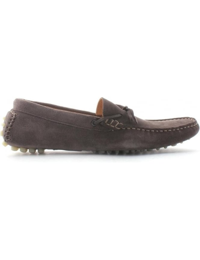 Hudson Ricardo Men's Suede Driving Shoes