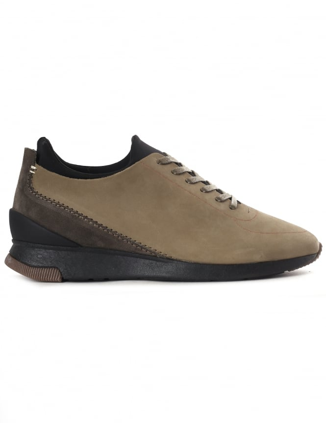 Hudson Sime Men's Nubuck Trainers