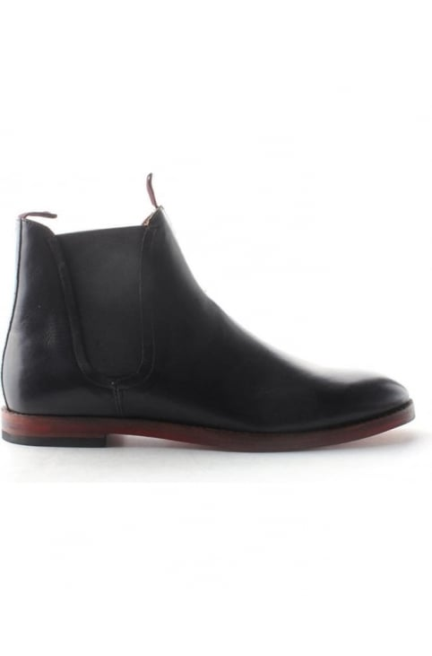Tamper Men's Chelsea Boot Black