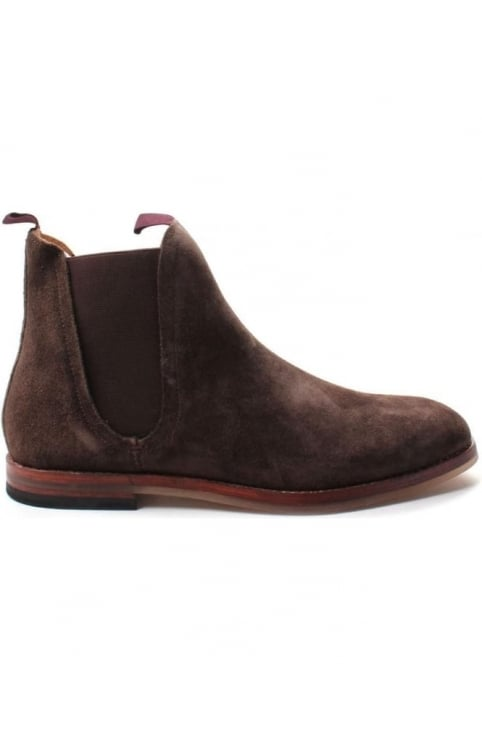 Tamper Men's Suede Chelsea Boot Brown
