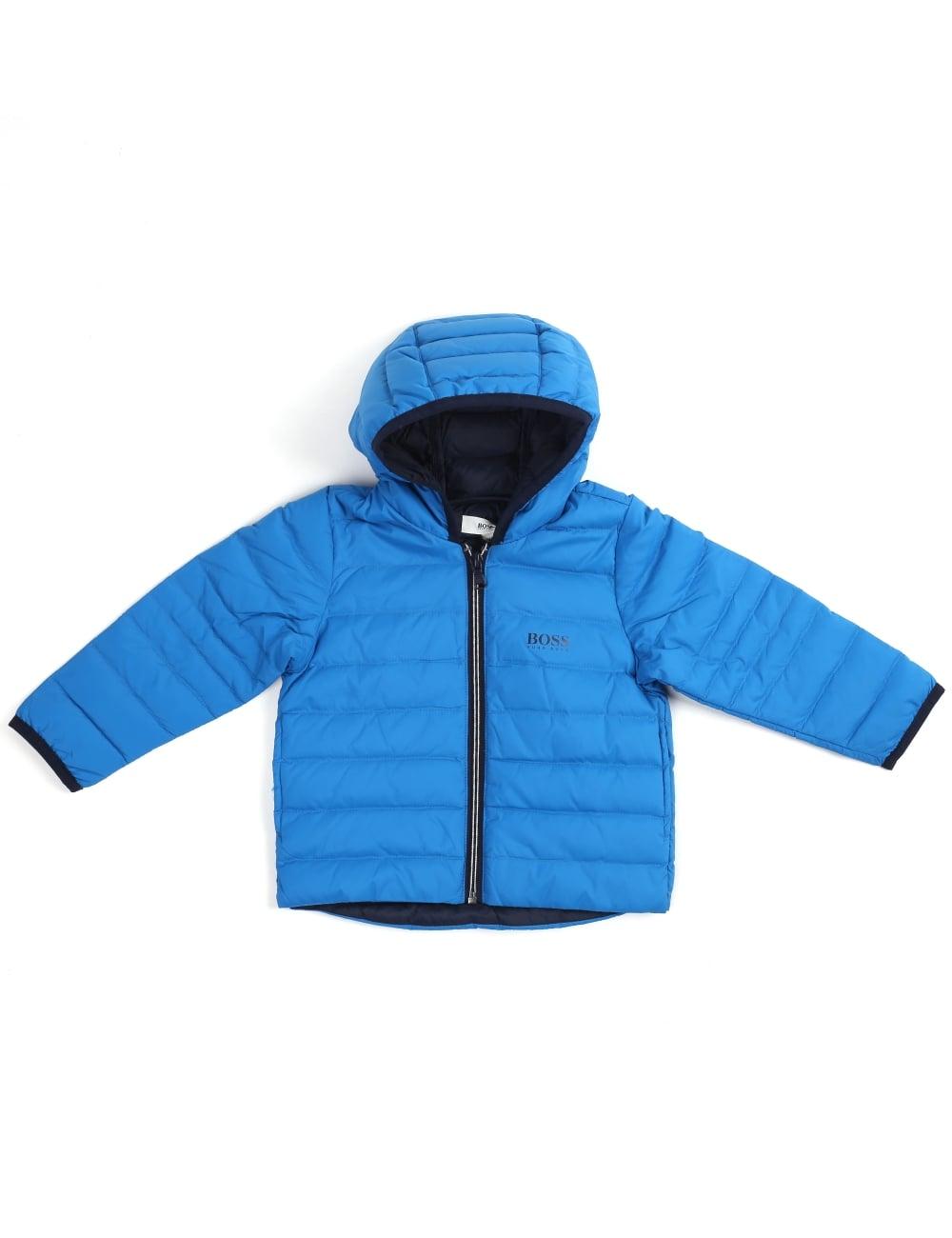 be600d176 Polo Ralph Lauren Baby Boy Zip Through Hooded Jacket Blue