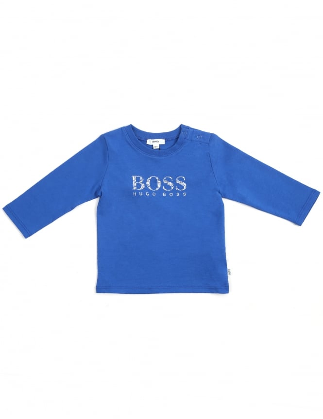 507e8651e Hugo Boss Kids Baby Boys Crew Neck Tee
