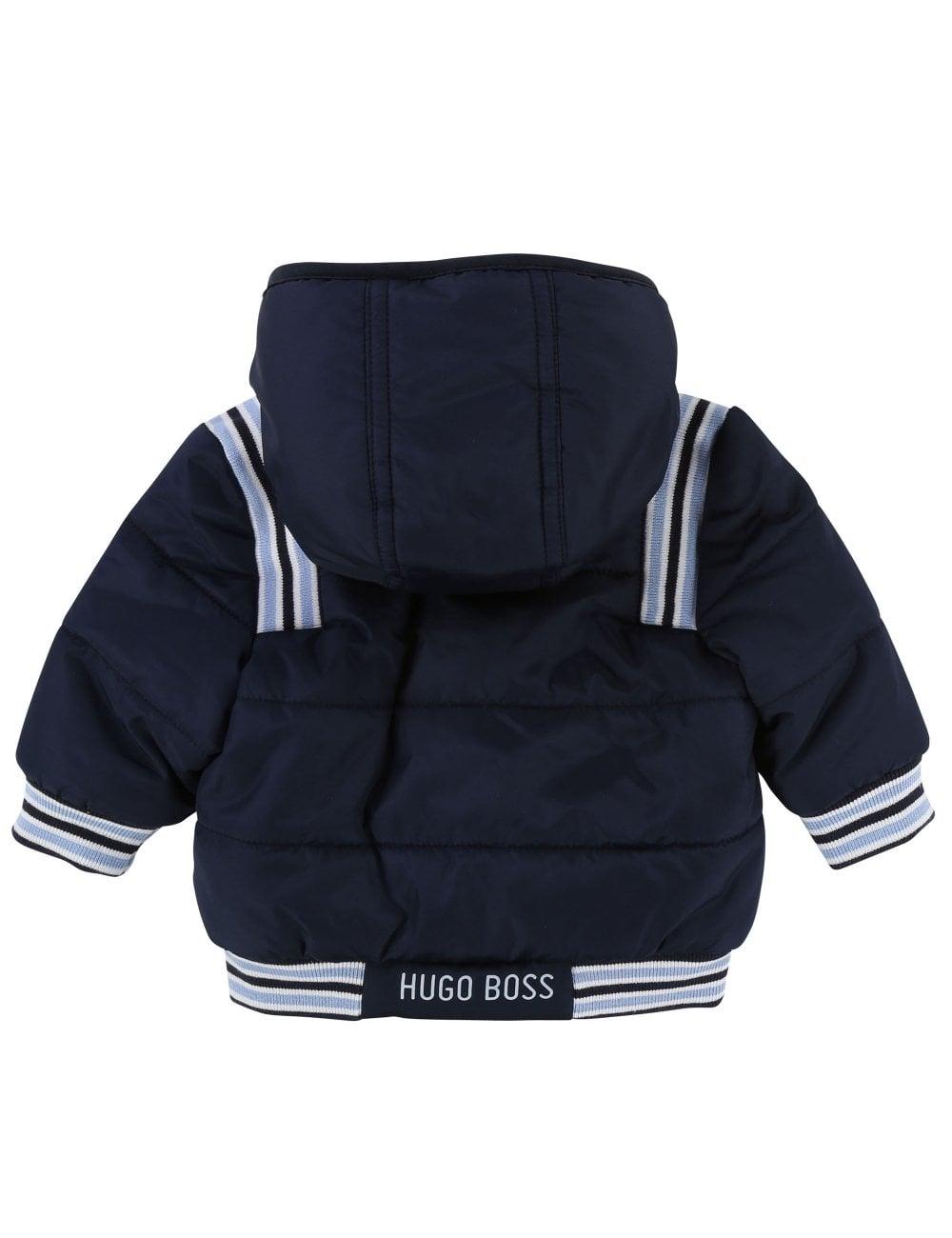 f5d438946c9e Hugo Boss Kids Baby Boys Puffer Jacket